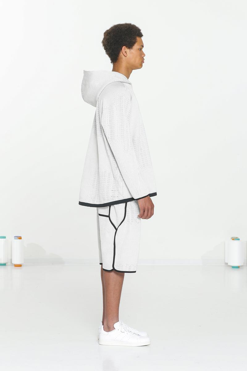 BYBORRE The TDK Edition™ SS20 Collection Spring/summer textile development knit pattern making fabric lookbook technical apparel techwear Woolmark Capsule AO2™ Paris Fashion Week PFW