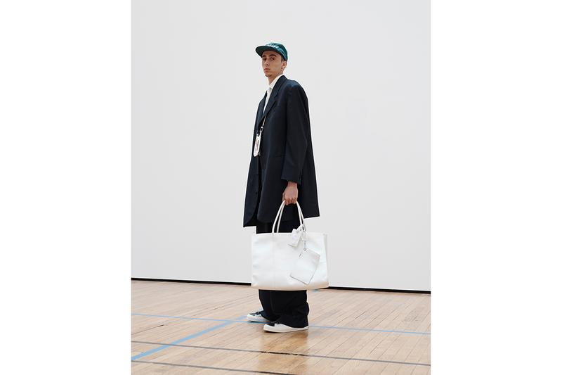 BYPRODUCT by Byredo Spring/Summer 2020 Paris Fashion Week Men's SS20 Collection Basketball Court Sneaker Launch Handbags NBA Influences Suits Clothing Apparel