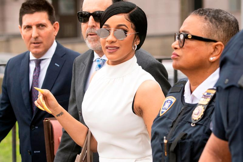 cardi b indicted indictment felony charges strip club flight queens bronx