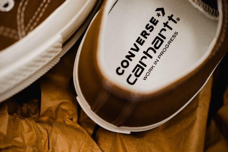 Carhartt WIP Converse Chuck 70 Closer Look canvas shoes sneakers footwear