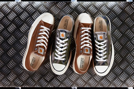 Carhartt WIP Adds a Military Twist to Converse Chuck '70s