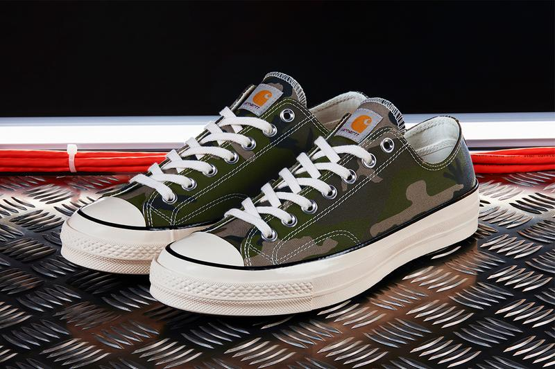 "Carhartt WIP x Converse Chuck '70 ""Camo Olive"" ""Brown Duck"" Canvas Sneaker Footwear Release Information Drop Date Collaboration Spring/Summer 2019 SS19 First Look"