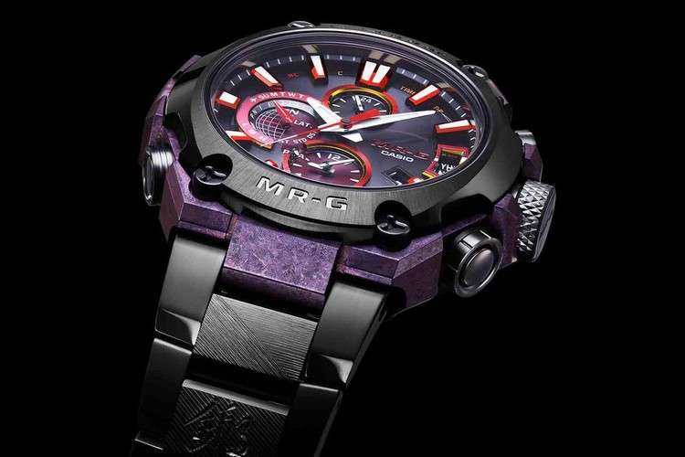 80127bbf4640 Casio. G-Shock Releases MR-G Watch Inspired by Traditional Japanese  Swordsmith Techniques