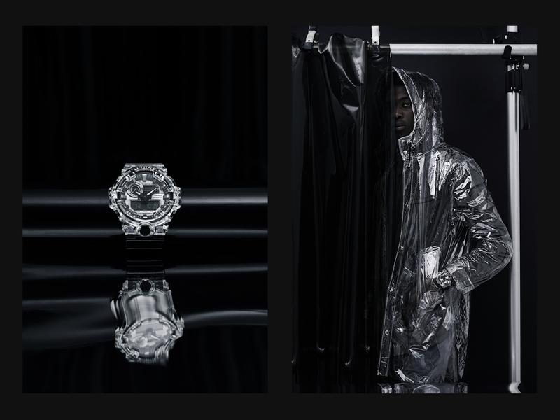 G-SHOCK's Transparent Watch Collection Closer Look '90s inspired GA700SK-1A DW5600SK-1 casio