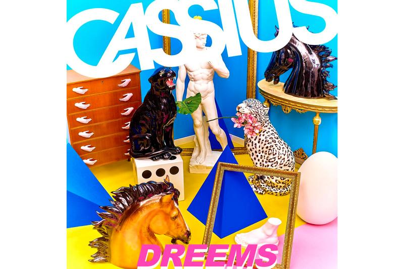 Cassius 'Dreems' Album Stream listen now spotify apple music philippe zdar boom bass french house disco techno hip-hop indie electronica