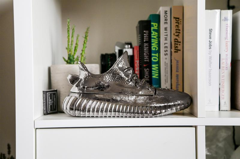 Ceeze YEEZY BOOST 350 V2 Sculpture Release candle holder home decor house interior design