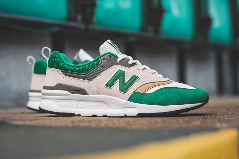 celtic treble treble football club new balance 997h release information First Look buy cop purchase details new soccer scottish scotland spl