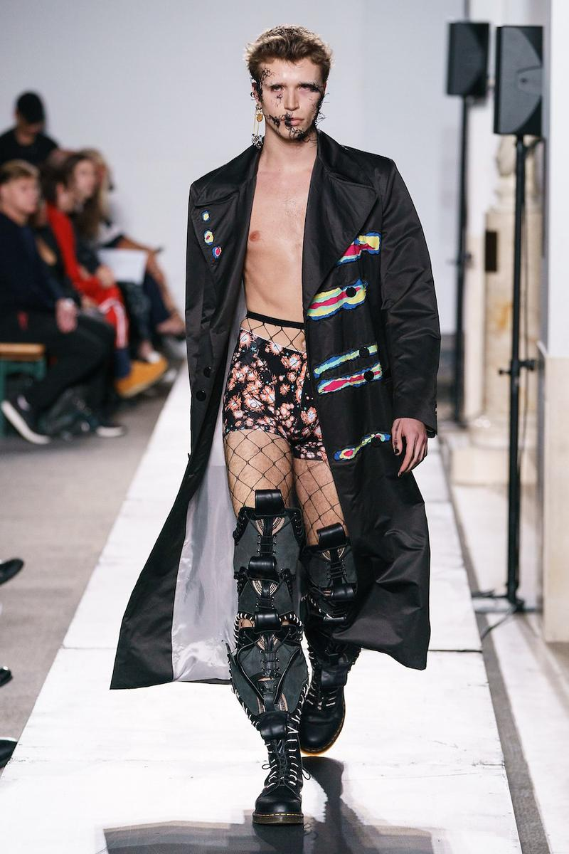 charles jeffrey loverboy spring summer collection the british library collections london fashion week