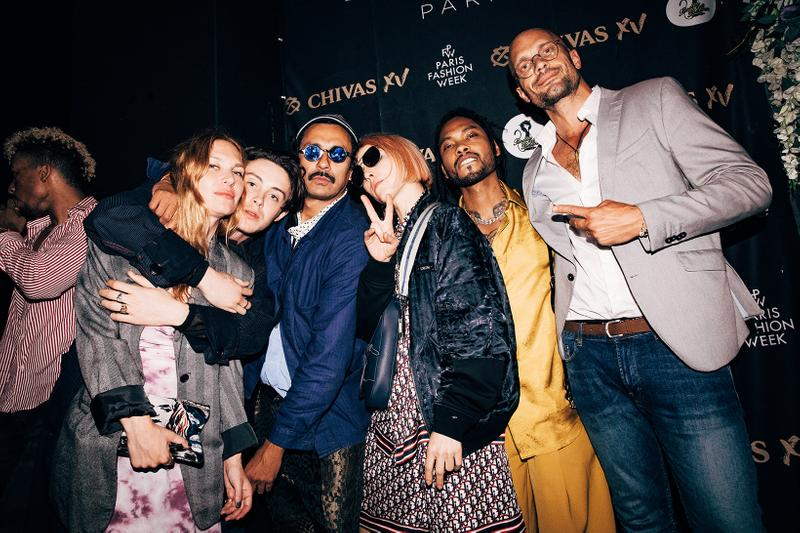Chivas XV x L'Arc Party Paris Fashion Week A$AP Rocky Swae Lee Miguel Goldlink