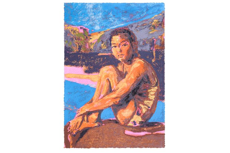 claire tabouret avant arte the swimmer print edition collaboration