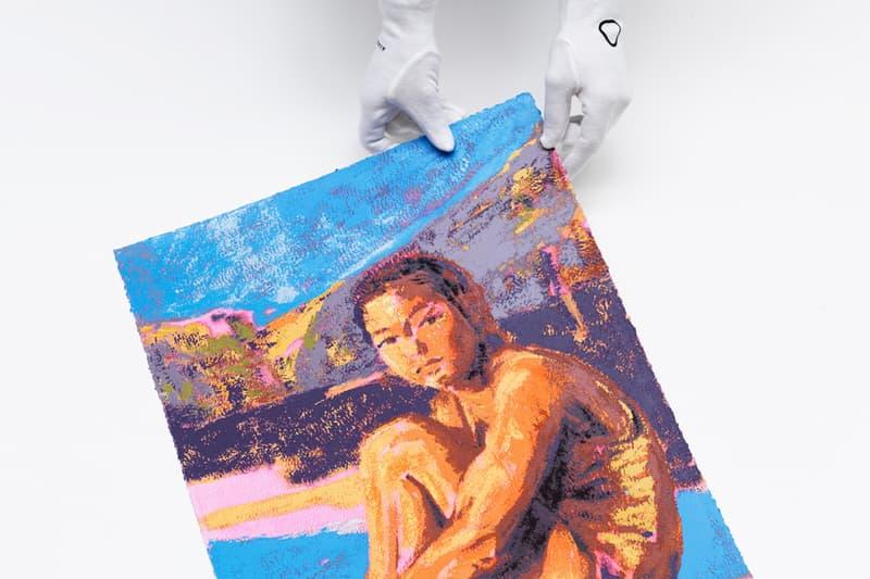 Claire Tabouret x Avant Arte 'The Swimmer' Print | HYPEBEAST