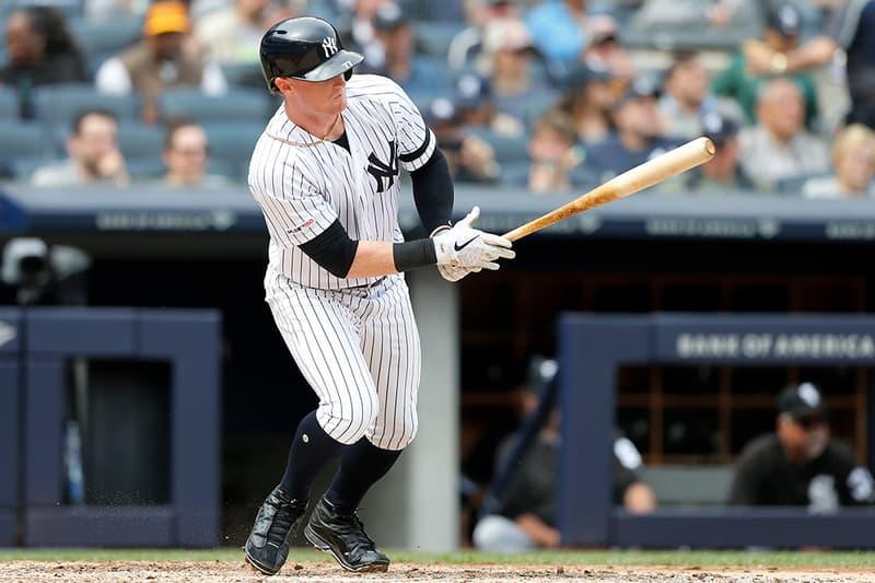Clint Frazier Custom KAWS x Air Jordan 4 Cleats MLB New York Yankees baseball KAWS air jordan 1 Air Jordan 4