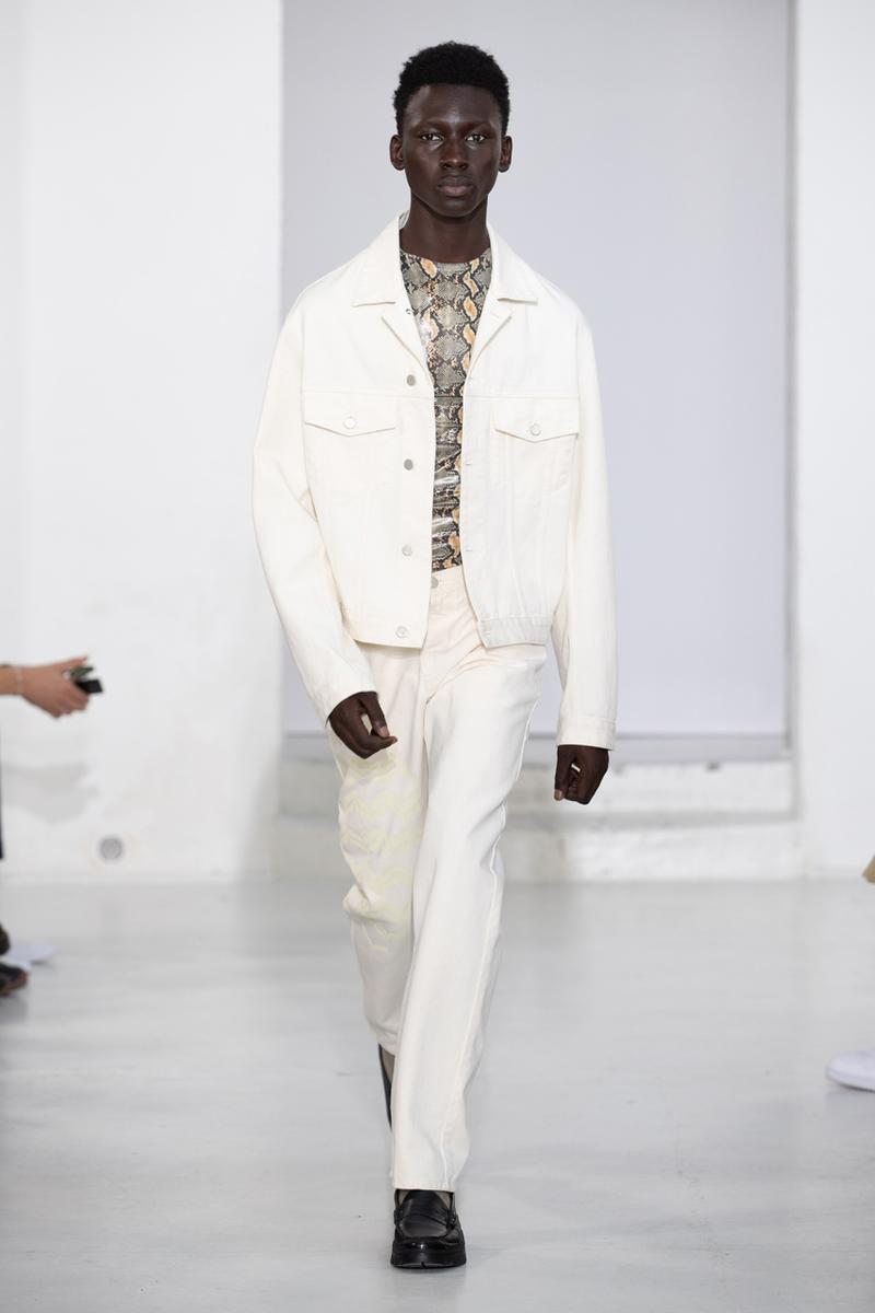 CMMN SWDN Spring/Summer 2020 Runway Collection presentation menswear paris fashion week pfw ss20 gh bass collaboration shoe loafer vibram ummah
