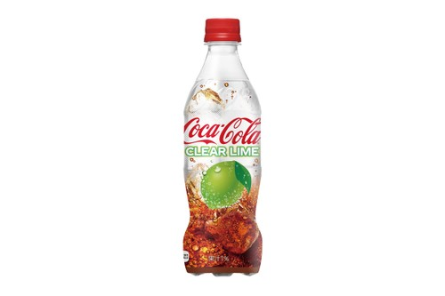 Coca-Cola Japan Is Set to Introduce Clear Lime Coke This Summer