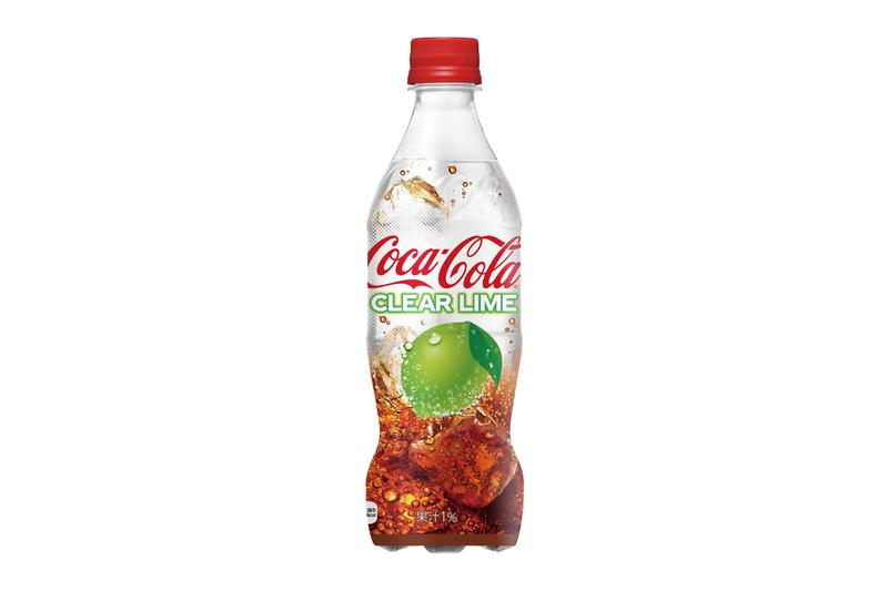 Coca-Cola Japan Clear Lime Coke Release Info Date Introduce June 10 Buy