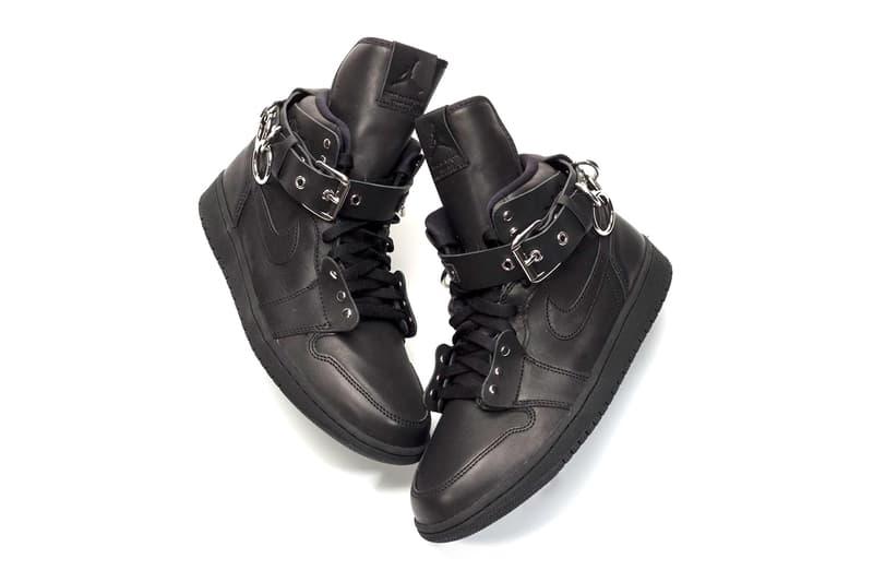 COMME des GARÇONS Air Jordan 1 Another Look CN5738-001 CN5738-100 cdg Brand Black White