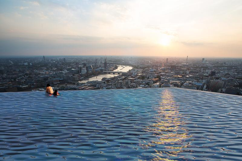 World's First 360-Degree Infinity Pool Is Set to Open in London