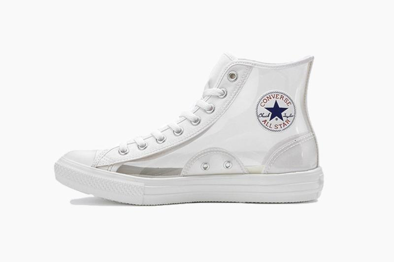 424ce00990 Converse Japan All-Star Light Clear Material Hi in Pink and Clear