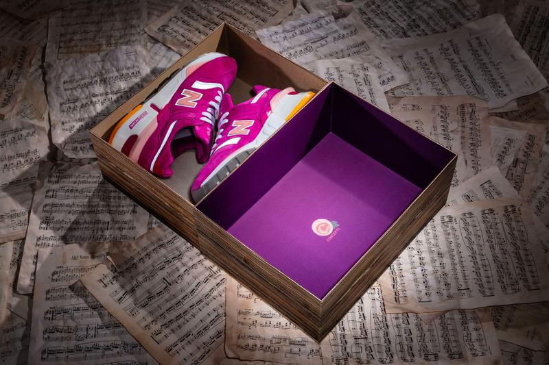 Concepts New Balance 997S Fusion ESRUC Release Info pink purple white yellow
