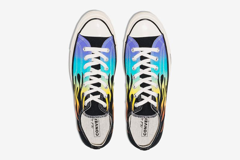 Converse Chuck 70 Flaming Archive Print Release Info all star