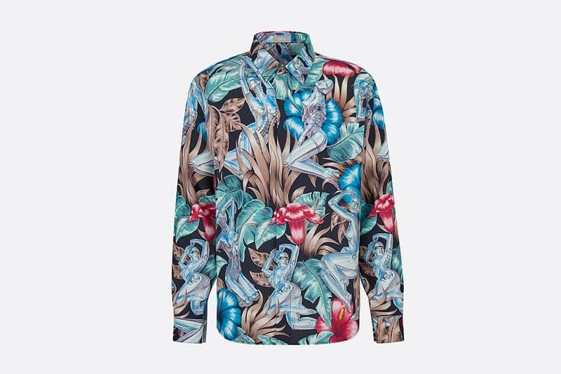 Dior Men's SS19 Beachwear Capsule by Kim Jones spring summer 2019 buy shop shorts towel bag accessories hajime sorayama sexy robot