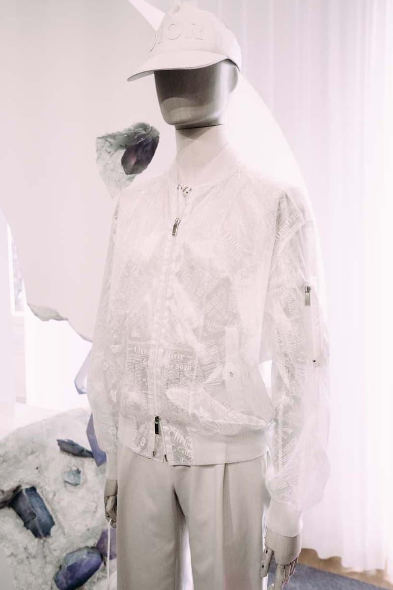 Dior Spring/Summer 2020 Collection Closer Look showroom re see ss20 kim jones daniel arsham yoon matthew m williams rollercoaster buckle menswear paris fashion week pfw rimowa bag collaboration shoes accessories shirts bags
