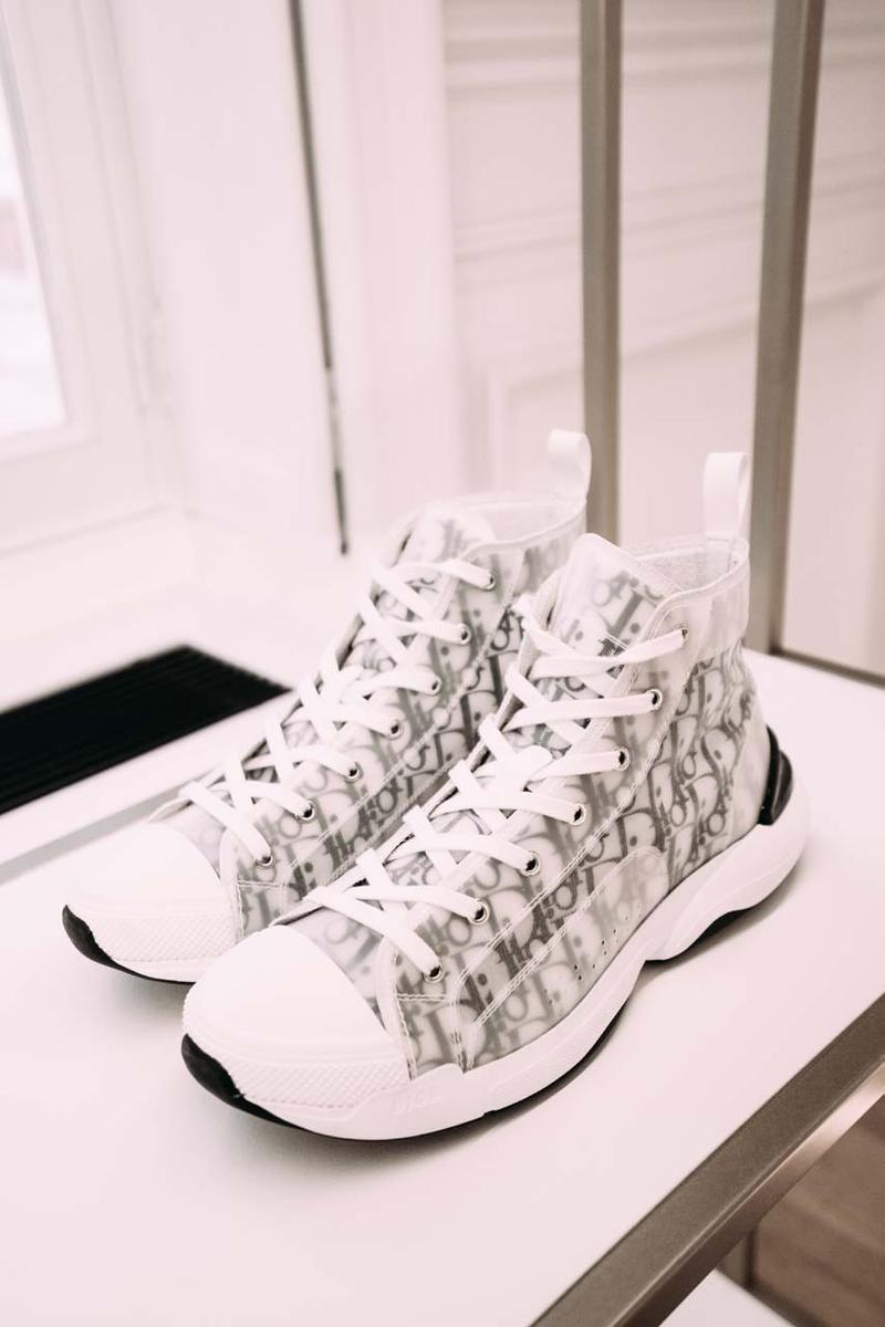 Dior Spring/Summer 2020 Collection Closer Look showroom re see ss20 kim jones daniel arsham yoon matthew m williams rollercoaster buckle menswear paris fashion week pfw rimowa bag collaboration shoes accessories shirts bags