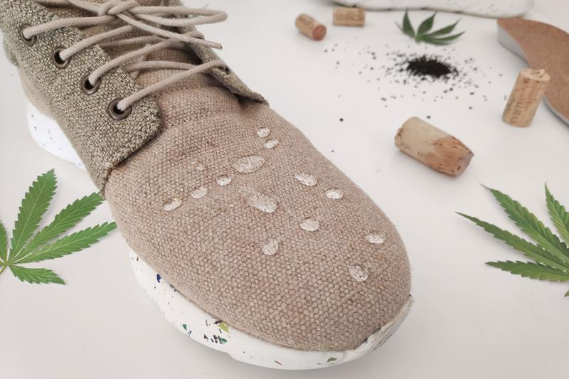 dopekicks worlds 1st hemp waterproof shoes sneakers kickstarter campaign