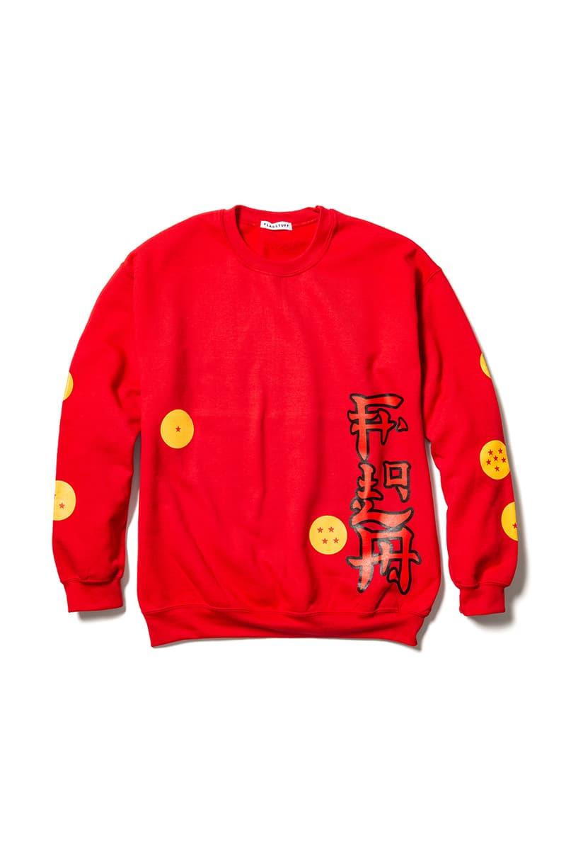 Dragon Ball Z x F-LAGSTUF-F Collection Spring Summer 2019 T-Shirts Harrington Jacket Sweaters Long Sleeves Graphic Printed Japan BEAMS Manga