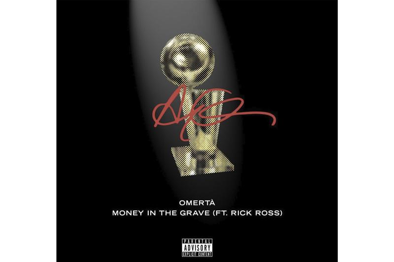 "Drake Drops Drops ""Omertà"" & ""Money in the Grave"" to Celebrate Raptors Championship Title"