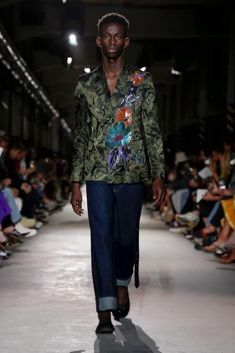 Dries Van Noten Spring/Summer 2020 Runway Show presentation mens paris fashion week pfw ss20 collection