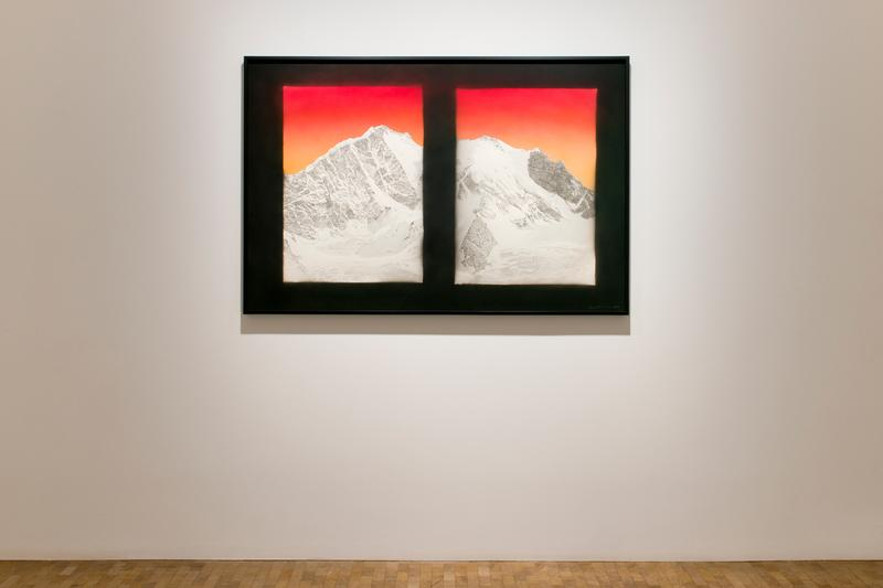 ed ruscha eilshemius me gagosian london exhibition artworks paintings