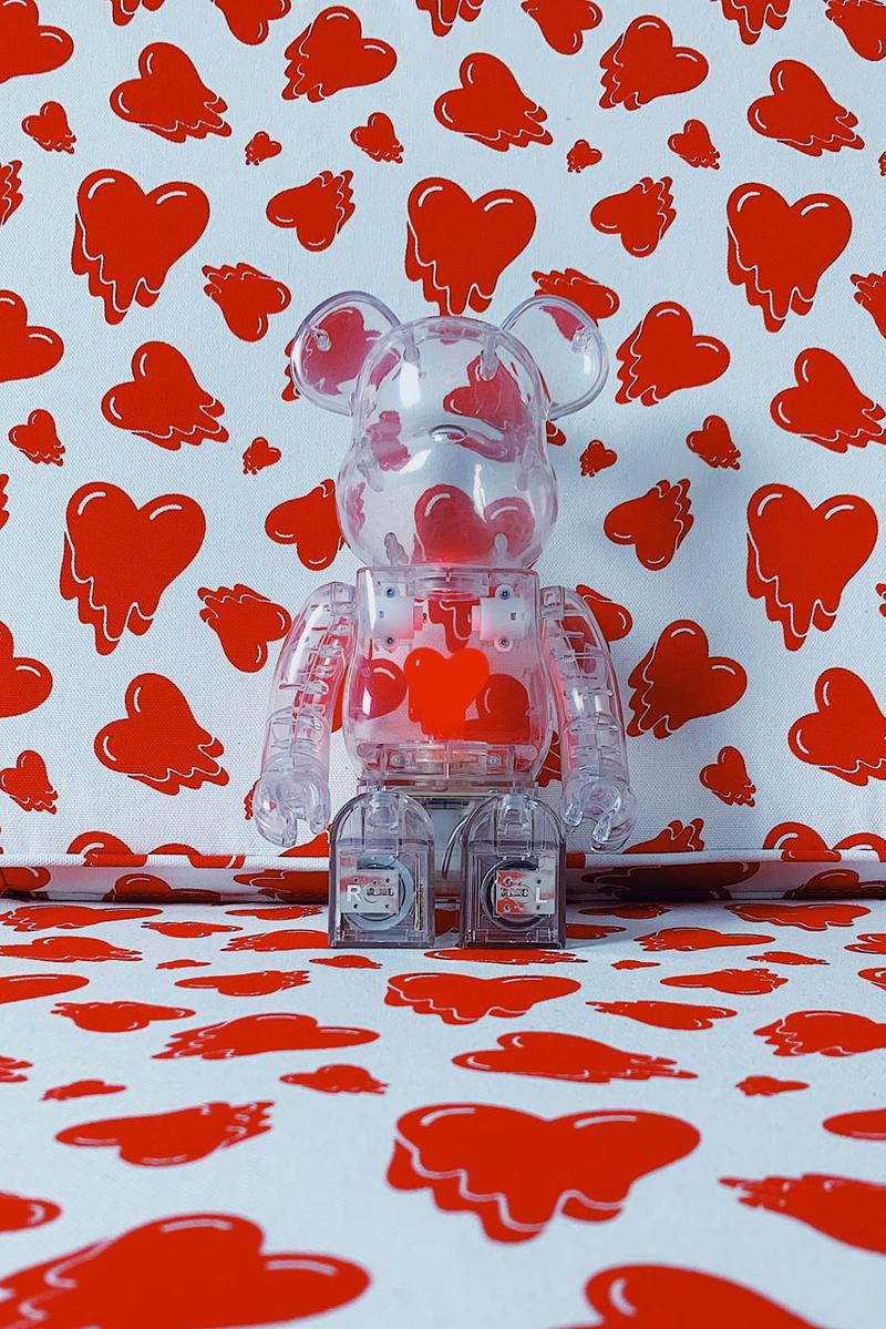 "Emotionally Unavailable ""Fabrick Collection"" drop release collection medicom toy 1000 may 31 2019"
