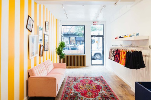 Inside Eric Emanuel's Summery NYC Pop-Up Shop