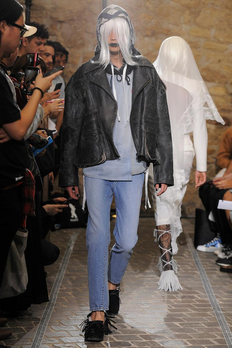 FACETASM  Paris Fashion Week Men's SS20 Spring Summer 2020 Looks Runway Pieces Collaboration Pieces First Look Levis Coca Cola