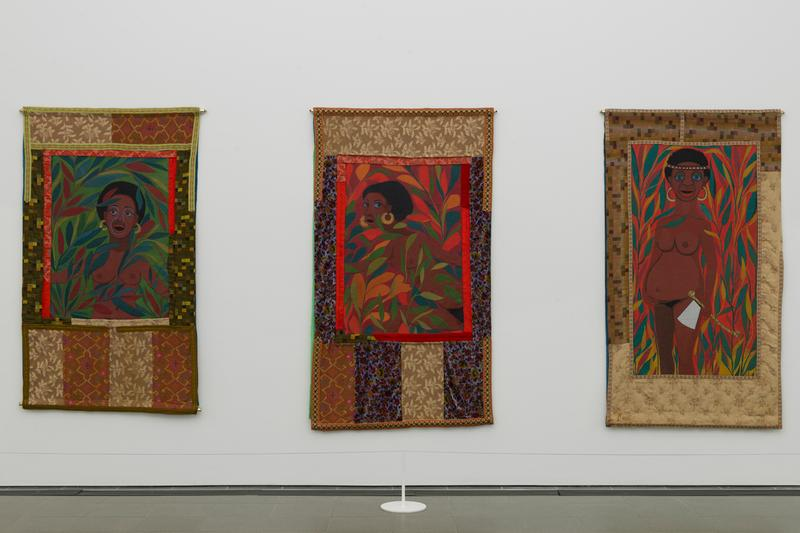 faith ringgold solo exhibition london serpentine galleries quilts paintings african american art works