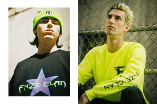 """FaZe Clan Drops 'Call of Duty'-Inspired Debut Line, the """"First Blood"""" Collection"""