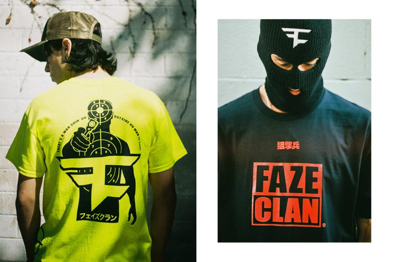 faze clan t shirt tee graphic tees shirts call of duty first blood debut collection clothing apparel buy 2019 spring summer