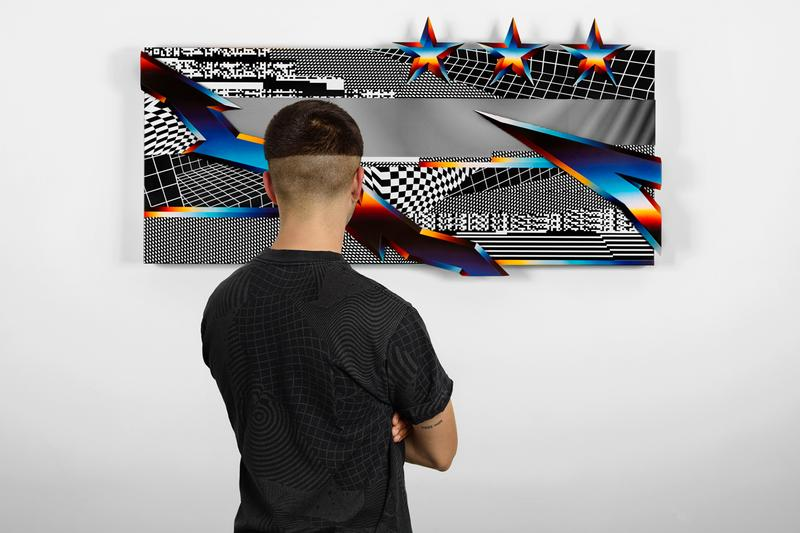 felipe pantone hennessy vs collaboration bottle artworks kinetic art graphics
