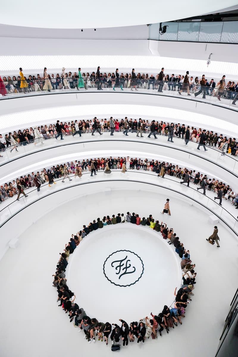 fendi fall winter 2019 2020 collection shanghai china show mens womens runway powerlong museum