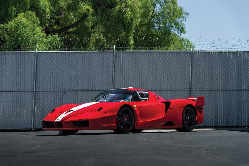 Ferrari FXX RM Sothebys Auction Information Race Car Top Gear Red Enzo Purchase used sale