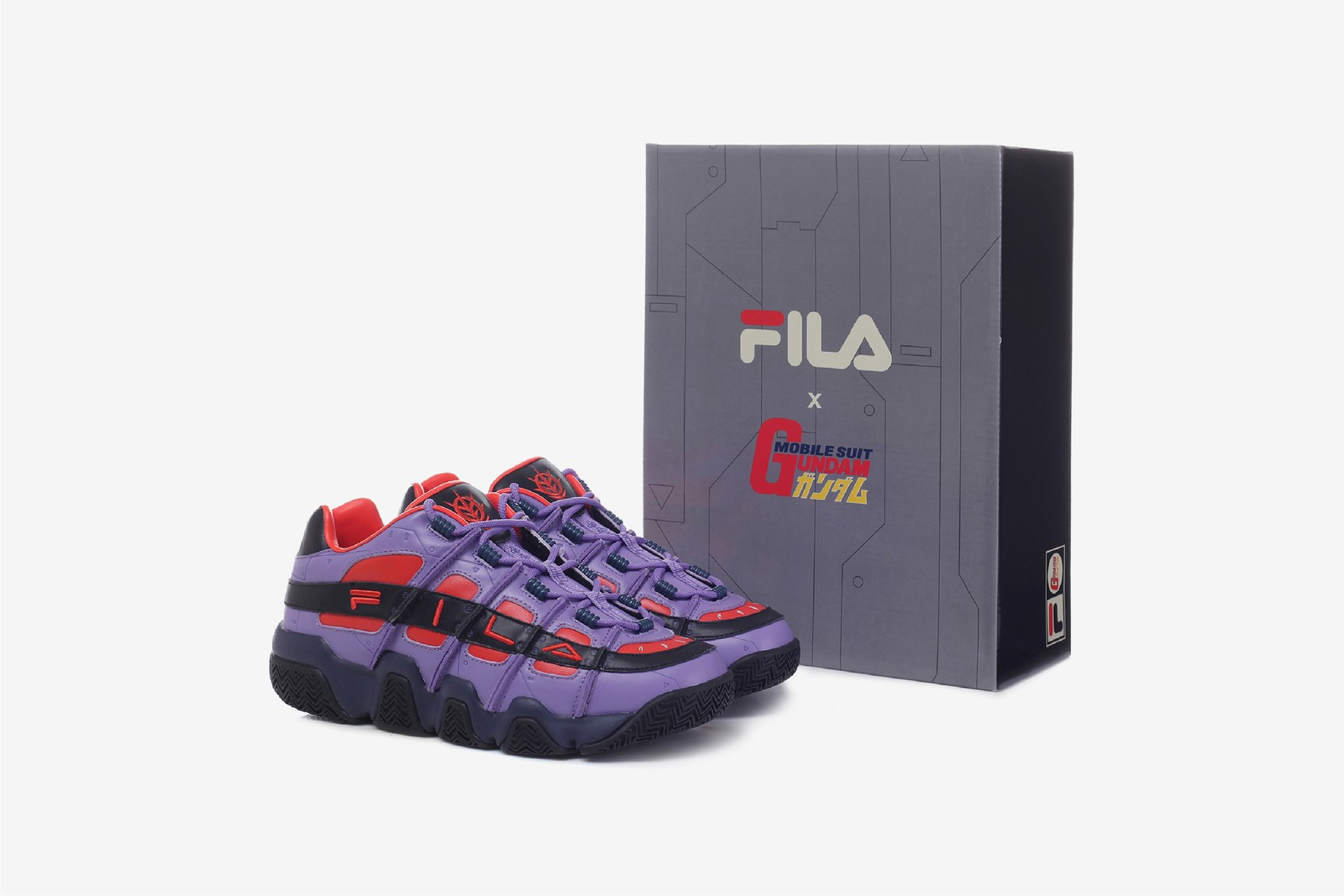 FILA x Mobile Suit Gundam Capsule Collection Apparel Anime Footwear