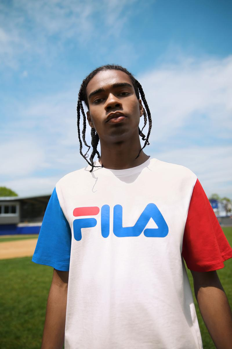 Pepsi x Fila Men's and Women's Collaboration collection americana sportswear disruptor 2 creator