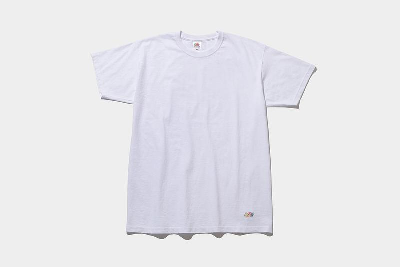 fragment design x Fruit of the Loom, The Conveni collaboration pack tee shirts release date info drop colorways hiroshi fujiwara