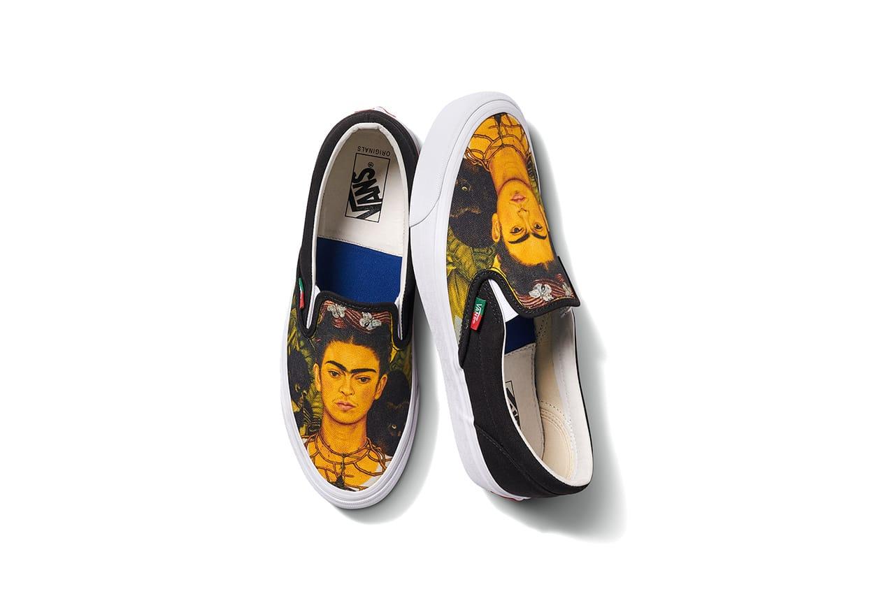 Frida Kahlo x Vans Vault Footwear