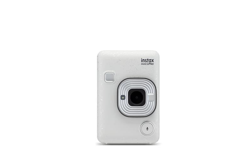 Fujifilm Instax Mini LiPlay Instant Camera Audio Recording Release  Elegant Black Blush Gold Stone White