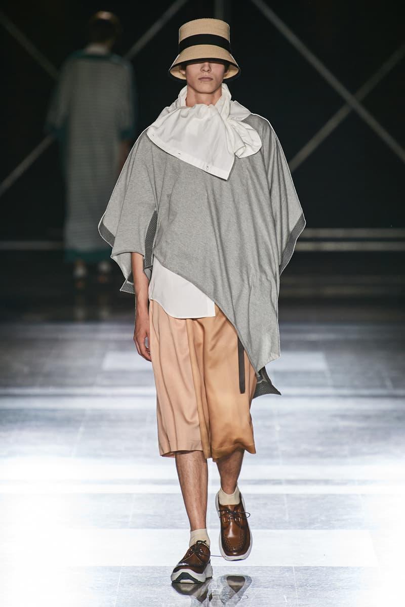 Fumito Ganryu SS20 Runway Collection PFW Men's spring summer 2020 paris fashion week