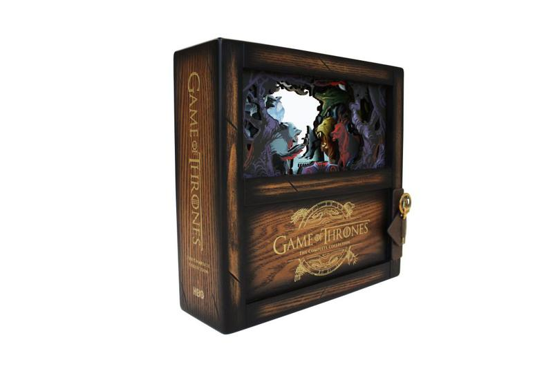 'Game of Thrones: The Complete Collection' Limited Edition Blu-Ray Box Set got hbo release information jon snow kit harington conan o'brien videos maisie williams sophie turner