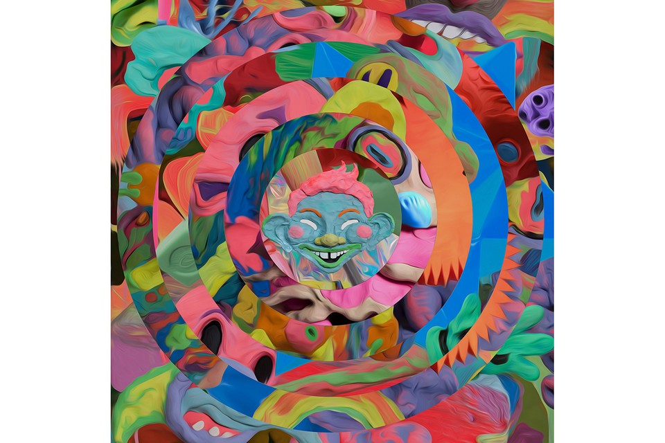 """Gary Card's Immersive """"HYSTERICAL"""" Exhibition Takes Over Phillips' London Gallery"""