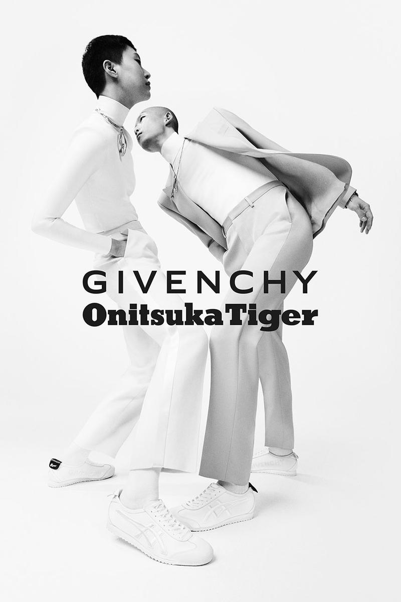 Givenchy x Onitsuka Tiger Nippon Made Mexico 66 collaboration sneaker release date info drop buy colorway black white june 13 2019